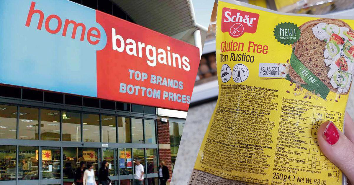 Schar Gluten Free Products In Home Bargains